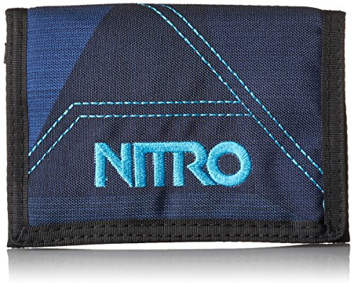 Nitro Snowboards Unisex Wallet Geldbeutel Fragments Blue