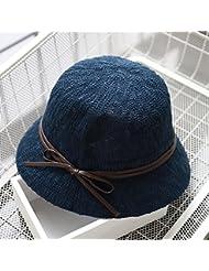 Printemps Été Automne Chapeau Casual Rétro Chapeau de soleil Casquettes de pêcheur (7 couleurs facultatives)