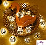 Best Improvements String Lights - SHINING DECORS MIRROR BALL LED String Lights Patio Review