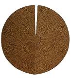 Kokosscheibe Kübelabdeckung Pflanzenschutz Winterschutz für Topfpflanzen (38 cm)