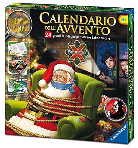 Ravensburger italy- calendario dell'avvento, 18938