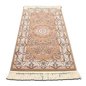 New day®-Il tappeto di finestra stile persiano crittografia ispessimento letto camera da letto tappeto portico , 897p , 80*150cm