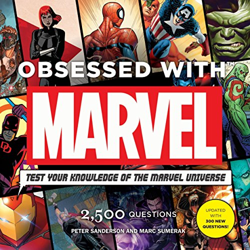 Obsessed With Marvel (Marvel Universe Comic Books)