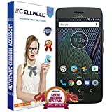 #10: Cellbell Tempered Glass Screen Protector With Free Installation Kit for Moto G5 Plus Mobile