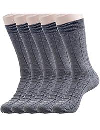 Hans Mesh Full length Socks for Men (Pack of 5) (f5+gry)