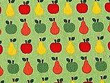 Minerva Crafts Äpfel & Birnen Print Kleid aus Baumwolle