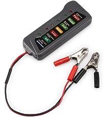 Winbang Batterie-Generator-Tester, 12 V, für Auto, Motorrad, LED, Digital-Batteriegenerator-Tester – Batteriezustand