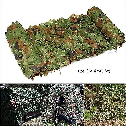 Hakkin Filet De Camouflage Militaire Pour Chasse Camping Jungle Décor