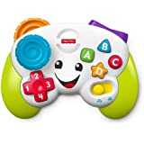 Fisher-Price Mi primer mando de consola, juguete de aprendizaje para bebé +6 meses (Mattel FWG17)