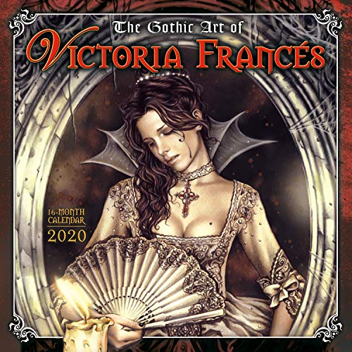 2020 the Gothic Art of Victoria Frances 16-Month Wall Calendar: By Sellers Publishing