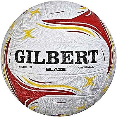 GILBERT Match Blaze Netball tamaño 5