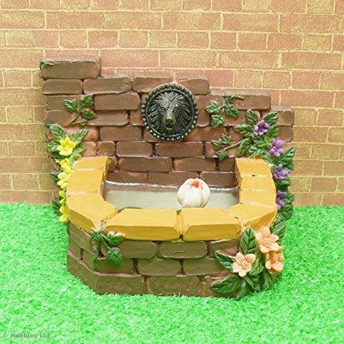 miniature-1-12th-scale-fairy-garden-lion-head-fountain-pond-ornament-fairy-garden-accessory-