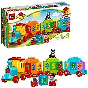 LEGO Duplo My First il Treno dei Numeri, per Iniziare a Contare Divertendosi con Questo Colorato Treno ed il Simpatico…  LEGO