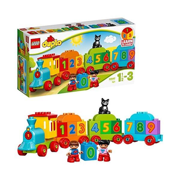 LEGO Duplo My First il Treno dei Numeri, per Iniziare a Contare Divertendosi con Questo Colorato Treno ed il Simpatico… 1 spesavip