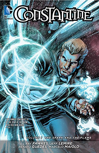 Constantine Volume 1: The Spark and the Flame TP (The New 52) (Constantine 1) por Jeff Lemire