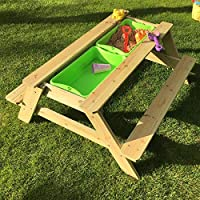 Top Quality Wooden Sand and Water Picnic Table