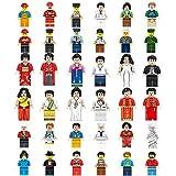 Mini figurine Set-36 pezzi minifigures Set di occupazioni, costruzione di mattoni di persone provenienti dalla comunità di industrie diverse Completa, building blocks giocattolo educativo per bambini regalo (36 minifigures)