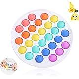 CAMFUN Giocattoli per Alleviare lansia Antistress, Bubble Sensory Fidget Toy, Colore Rotondo