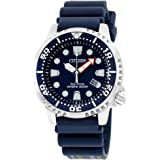 Citizen Eco-Drive Mens BN0151-09L Promaster Diver Watch With Blue PU Band