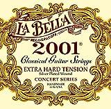 Labella L2001XH Concert Série Jeu de Cordes pour Guitare Extra Hard