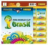 Panini-207503-FIFA-World-Cup-Brasil-2014-Starterset-mit-Sammelalbum-10-Tten-und-5-Sticker
