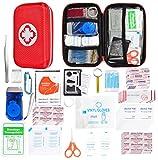 Kit di pronto soccorso compatto - Strumenti di sopravvivenza Mini box - Borsa di emergenza medica esterna per le emergenze in casa