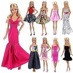 Regalate a vostra figlia 5 nuovi vestiti da bambola confezionata come i veri vestiti. Prodotti di marca Miunana autentica.Tutti prodotti hanno passato CE CERTIFICAZIONE, possiamo garantire la sicurezza del prodotto, tutti i prodotti sono prodotti da ...