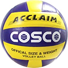 Cosco Acclaim Volleyball - Size: 4, Diameter: 25. 6cm