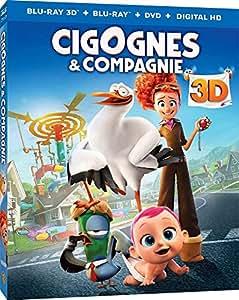 Cigognes & Compagnie [Blu-ray 3D] [Combo Blu-ray 3D + Blu-ray + DVD + Copie digitale]