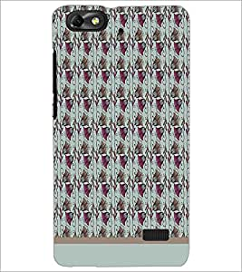 PrintDhaba Bell Pattern D-1570 Back Case Cover for HUAWEI HONOR 4C (Multi-Coloured)