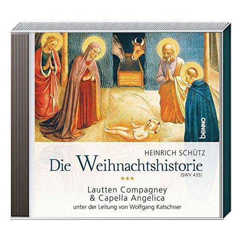 CD »Die Weihnachtshistorie (SWV 435)«: Lautten Compagney & Capella Angelica unter der Leitung von...