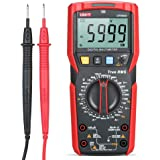 UNI-T UT89XD Digital Multimeter High Accuracy Handheld Mini Universal Meter 6000 Counts LCD Display True RMS Measure AC/DC Vo