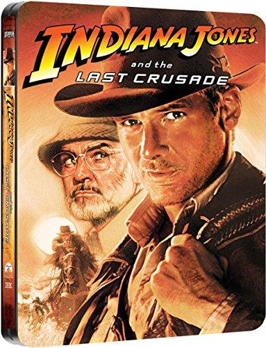Indiana Jones and the Last Crusade - Exklusive Limited Steelbook Edition (inkl. Deutscher Ton / auf 4000 Stk. geprägt) (Der letzte Kreuzzug) [Blu-ray]