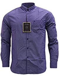 Merc of London Helmsley, Chemise Casual Homme