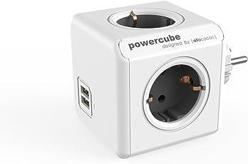 Allocacoc PowerCube Orginal USB grau 4xSteckdose 2xUSB 5713