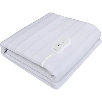 Pindia Single Bed Heating Electric Blanket - White