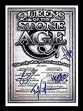Queens Of The Stone Age Signiert und gerahmt Foto