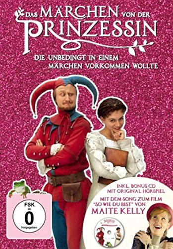Das Märchen von der Prinzessin, die unbedingt in einem Märchen vorkommen wollte (+ Audio-CD) [Limited Edition] [2 DVDs]