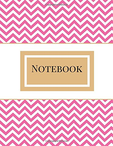 Notebook: Fancy Chevron Composition Notebook, Single Subject, 125 Pages