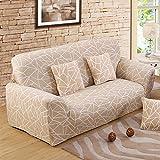 FORCHEER Sofabezug elastische Sofahusse Sesselbezug Stretchhusse Sofaüberwurf Couch Husse mit