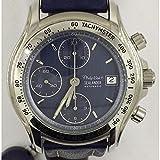 Orologio Philip Watch Sealander 8241946025 Automatico Acciaio Quandrante Blu Cinturino Pelle