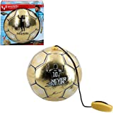 Messi Training System - Träningsboll med rep Golden Edition (ColorBaby 48070)
