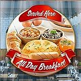 Full English Breakfast Fenster Cafe Geschäft Restaurant Aufkleber Sign POS Decal by Inspired Walls®