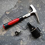 Geologenhammer im Gelände - Paket 2 für z.B. Erstsemester: Pickhammer