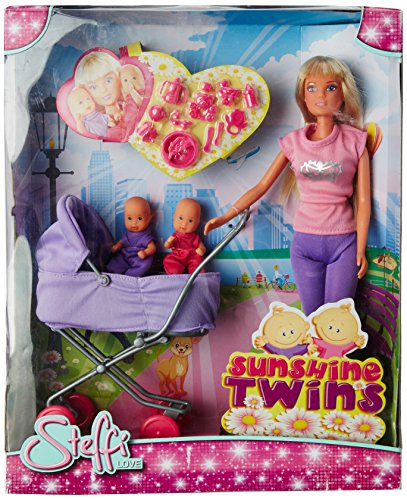 Steffi Love - Muñeca con 2 bebés, modelos surtidos