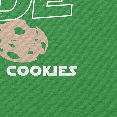 Texlab–We Have Cookies–sacchetto di stoffa Verde