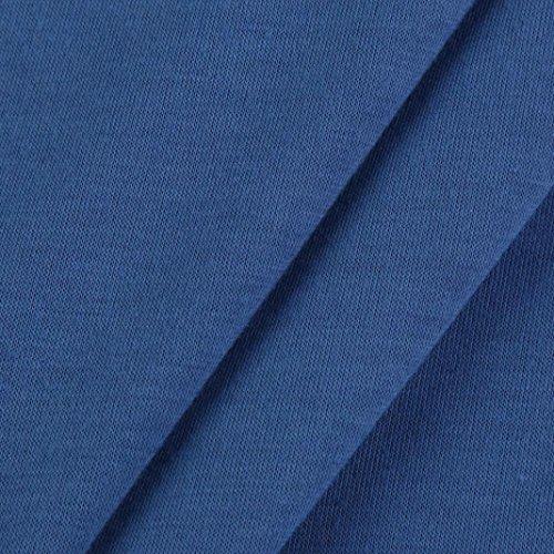 DAY8 Femme Vetement Sport T Shirt Ete Blouse Femme Chic Soiree Haut Femme Grande Taille Printemps Vetement Femme Pas Cher Casual Chemise Femme Fashion Top Fille Mode Bustier Manche Longue Bleu