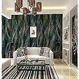 BZDHWWH Damast 3D Geometrische Muster Home Decoration Rustikale Wandverkleidung, Seidentuch Material Kleber Erforderlich Wandbild, Wandbekleidung, 170 Cm (H) X 255 Cm (W)