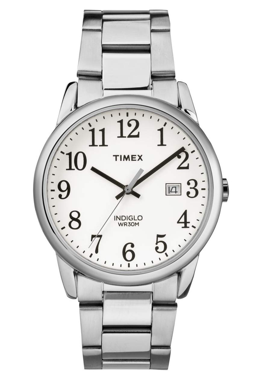 Timex Men's Easy Reader Date 38 mm Bracelet Watch
