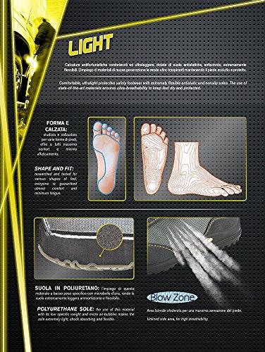 Grisport, Light-Line Marostica, S3 Sicherheitsschuh Black